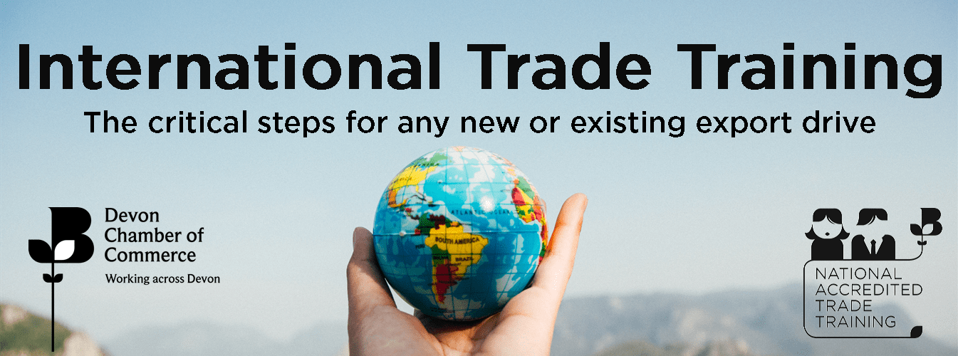 Introduction to Exporting – a BCC accredited training course for both experienced and new exporters