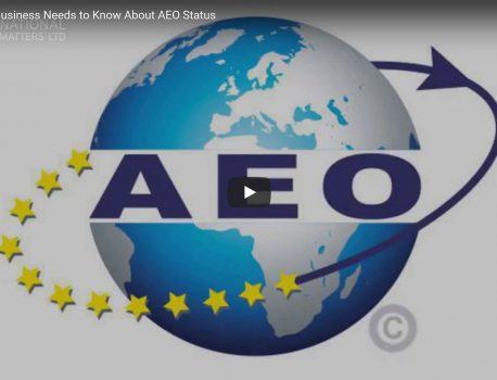 New video: AEO status