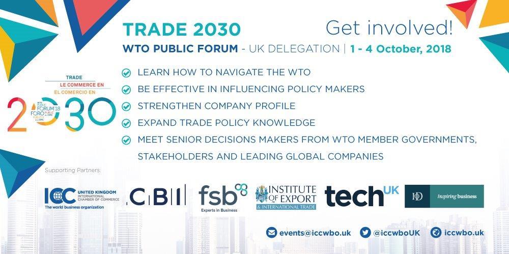 WTO Public Forum
