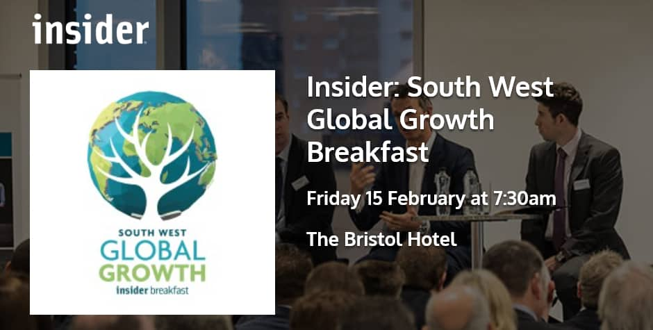Insider: South West Global Growth Breakfast