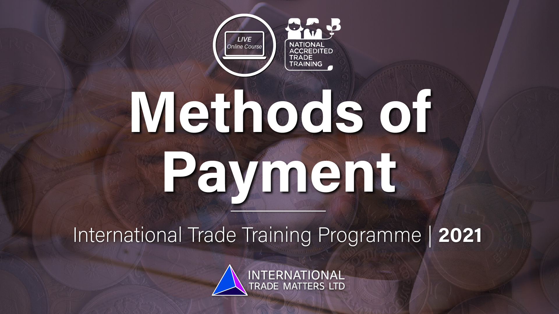 Methods of Payment – An Online Course