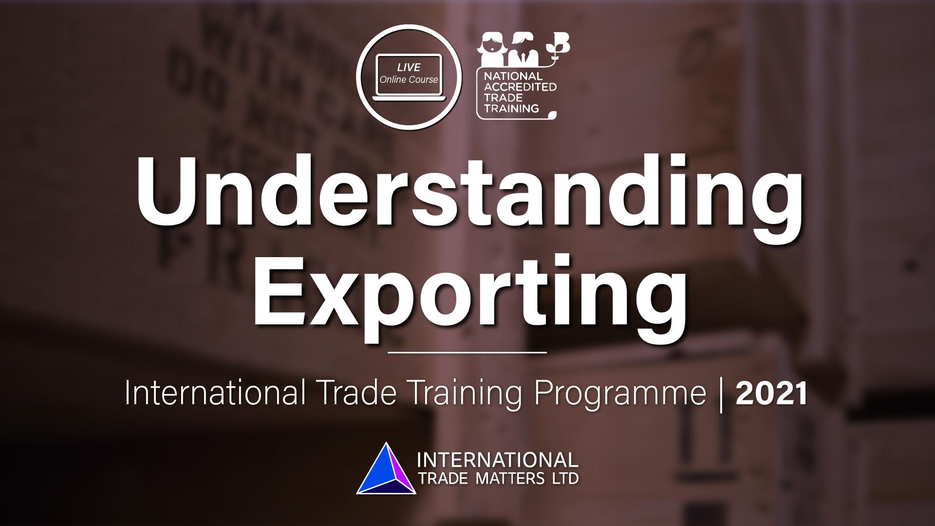 Understanding Exporting – An Online Course