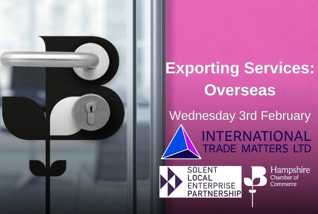 Exporting Services: Overseas – A Free Webinar